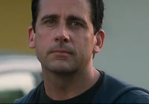 Steve Carell as Cal in the movie Crazy Stupid Love